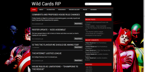Wild Cards Roleplaying Blog